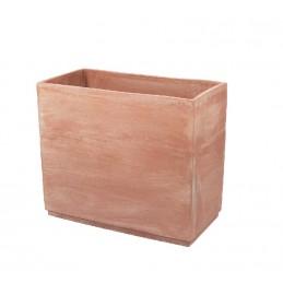 Vasi rettangolari – Cassetta Basic Alta CM . 70 – terracotta galestro antigelivo
