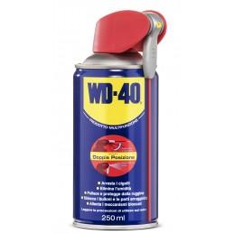 WD-40 Prodotto Multifunzione Lubrificante Spray con Sistema Professionale Doppia Posizione, 250 ml + 40 ml