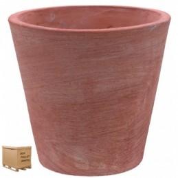 Vasi in terracotta da giardino Vaso Conico Moderno 30 CM