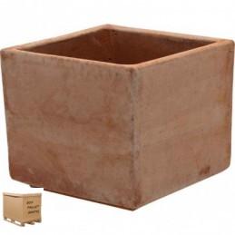Vasi in terracotta da esterno – Cubo  Aromatica moderne 17 cm