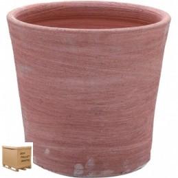 Vaso in terracotta- VASO ROTONDO MODERNE 15 CM