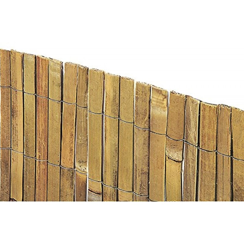 VERDELOOK Arella Beach in cannette di Bamboo 1×3 m, per recinzioni e Decorazioni