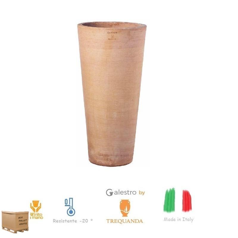 Vaso di terracotta Rotondo Alto moderne cm. 70