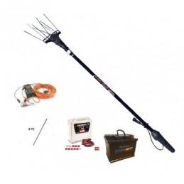 Scuotitore per olive Zanon Albatros FV 33 AL/300 + Batteria 45AH + caricabatterie Telwin 11